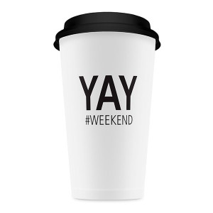 Mugs (Vasos altos) de papel para llevar - Weekend-