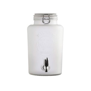 Dispensador de bebidas Kilner -Blanco Mate- 5L